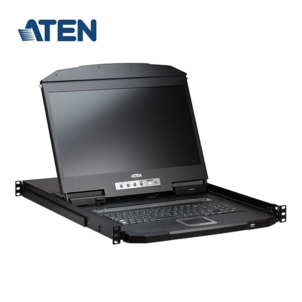 에이텐 18.5인치 LCD KVM 스위치 8:1 [CL3108NX]