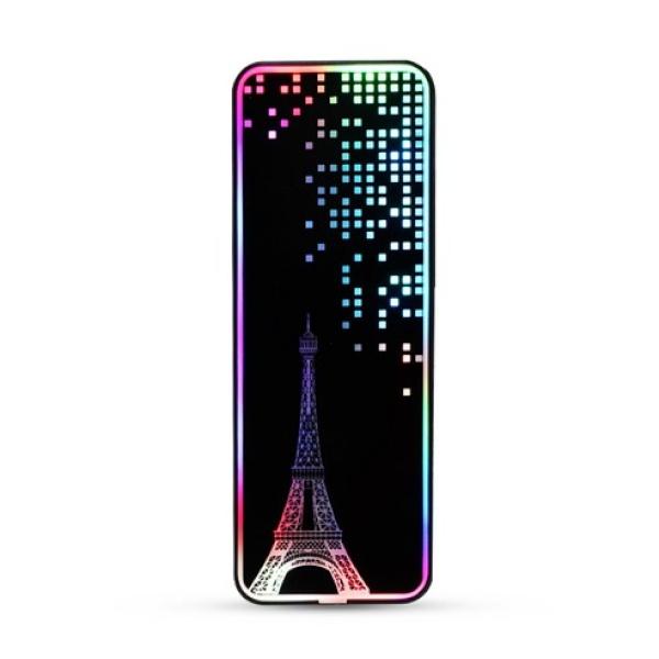 외장케이스, STELLA [M.2 NVMe전용] [USB 3.1 C-C케이블 포함] [인쇄/견적문의] [RGB/에펠탑]