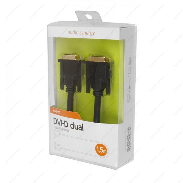 동양전자 DVI-D 듀얼 고급형 케이블 1.5M [HD-DVID]