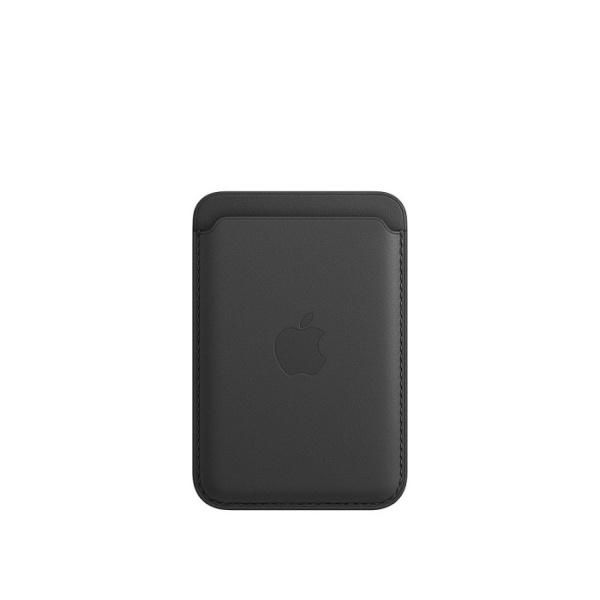 MagSafe형 iPhone 가죽 카드지갑 - 블랙 [MHLR3FE/A]
