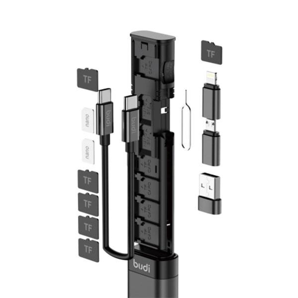BUDI 9in1 다기능 멀티스틱 케이블박스/키트/여행용