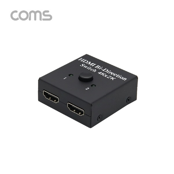 Coms TB034 [모니터선택기/HDMI/2:1/양방향지원/4k/오디오지원]