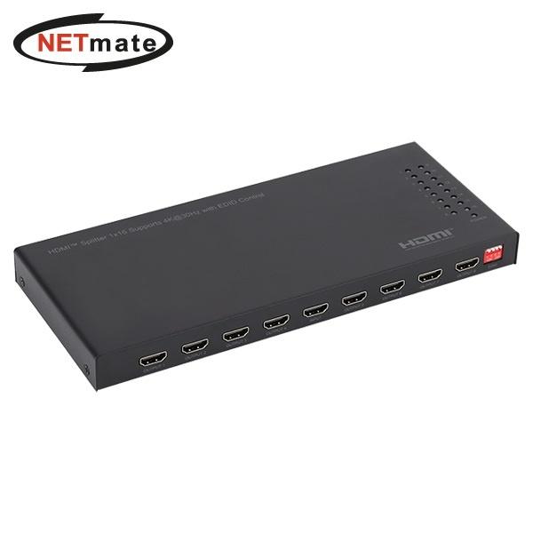 NETmate NM-PTPT6C [모니터 분배기/1:16/HDMI/오디오 지원]