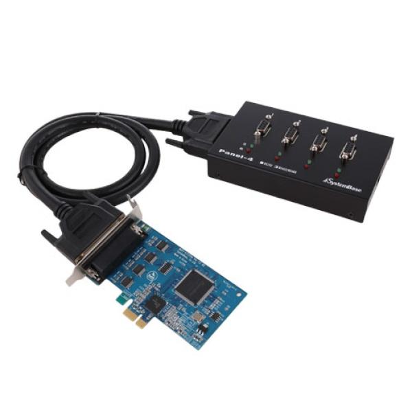 시스템베이스 Multi-4/LPCIe COMBO (시리얼카드/RS422/RS485/PCI-E/4포트)