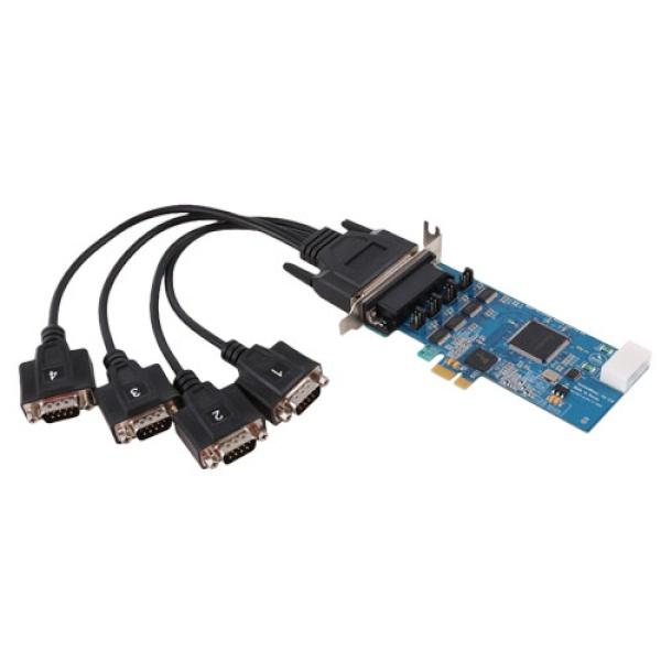 시스템베이스 Multi-4C/LPCIe 232 (시리얼카드/RS232/PCI-E/4포트)