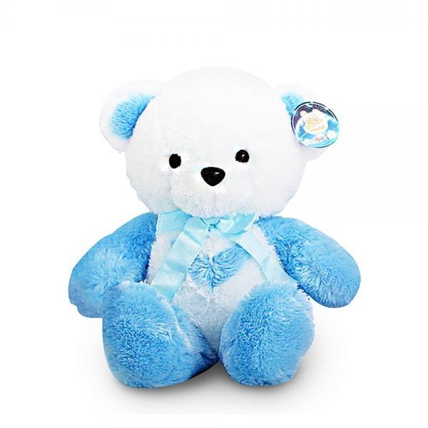[GKS17349] 한울토이 반달곰인형 블루-소(30cm)