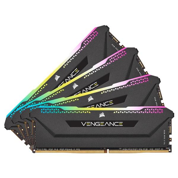 DDR4 32G PC4-25600 CL16 VENGEANCE PRO SL BLACK (8Gx4)