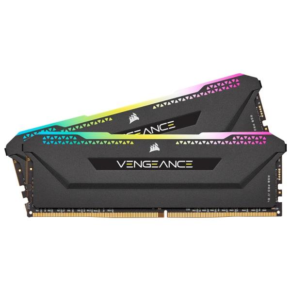DDR4 16G PC4-25600 CL16 VENGEANCE PRO SL BLACK (8Gx2) AMD