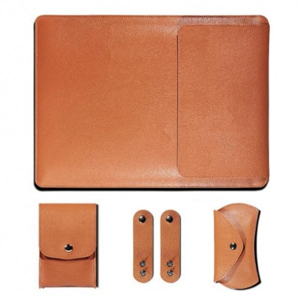 노트북 파우치, 가죽 파우치 [27x37cm] 오렌지 [GTF30295]