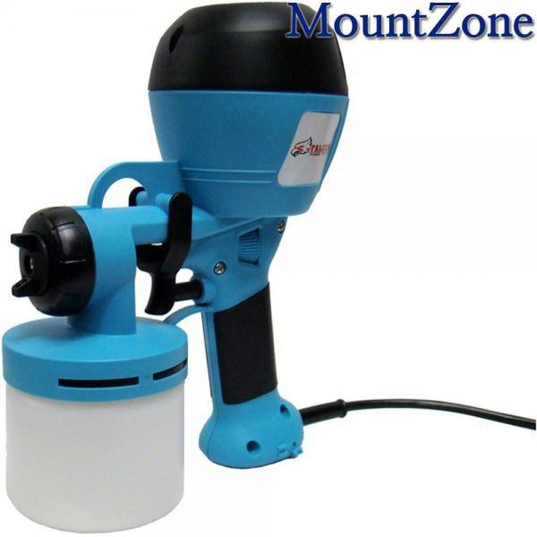 HVLP핸디 전기도장기 FM-350 전기스프레이건 콤프레셔 필요없는 도장기
