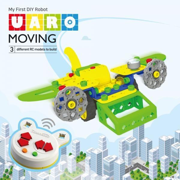 유아로 무빙 교육용 조립식 RC카 로봇 어린이 유아 장난감 교구