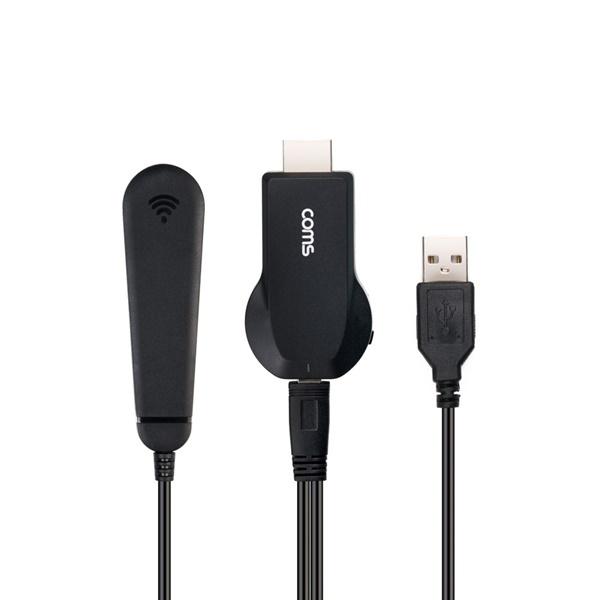 [FW258]  Coms 4K 스마트폰 무선 동글 / 미러링