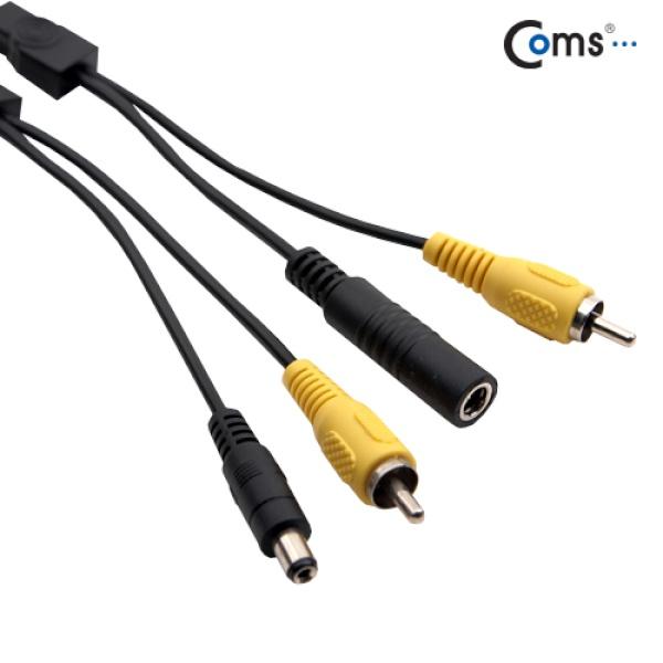 [BS580]  Coms CCTV 케이블 (1RCA) 검정 - 15M