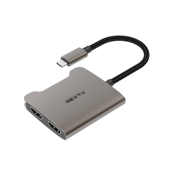 이지넷 USB3.1 C타입 to HDMI 컨버터, 오디오 지원 [NEXT-2271TCH-4K] [넷플릭스 지원]