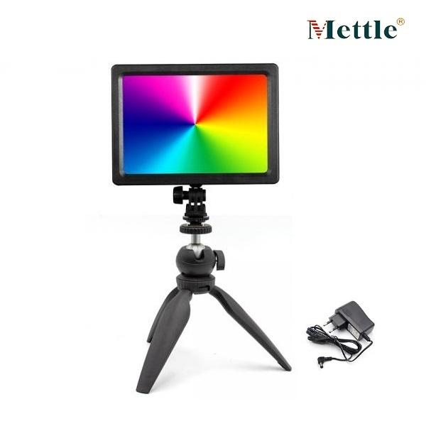 오토케 컬러패드112 어댑터 삼각대 세트 RGB 컬러 LED 조명 KC 인증 정품 개인방송장비 1인미디어