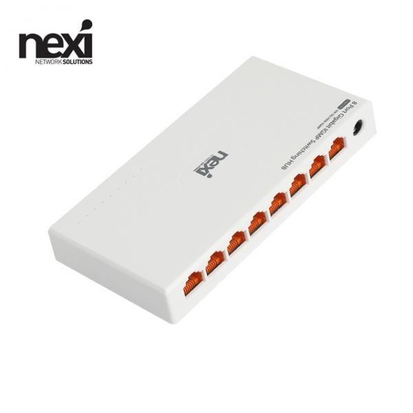 넥시 NX-SG1008-IGMP NX1135 [스위칭허브/8포트/1000Mbps]