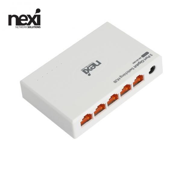 넥시 NX-SG1005 NX1132 [스위칭허브/5포트/1000Mbps]