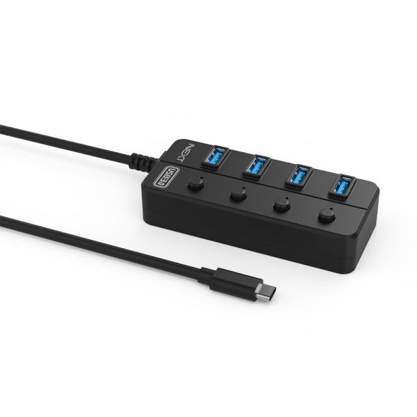 이지넷 NEXT-715TC (USB3.0허브/4포트/무전원)