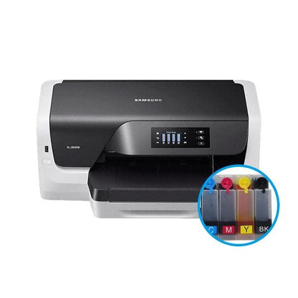 삼성전자 SL-J3520W 프린터 + 무한공급기 [500ml]