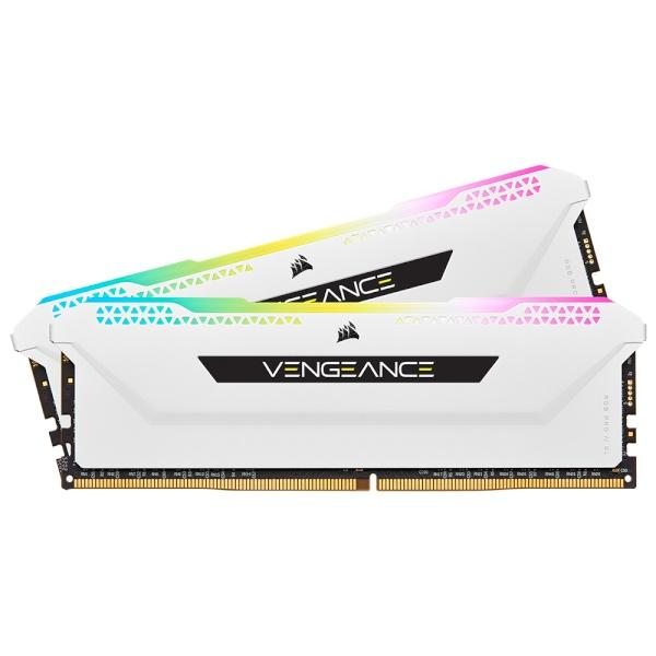 DDR4 32G PC4-25600 CL16 VENGEANCE PRO SL WHITE (16Gx2)
