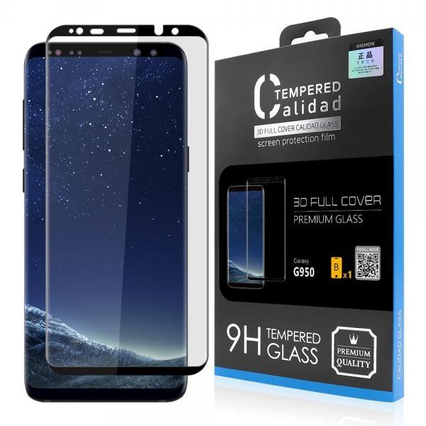 갤럭시 S8 칼리다드 풀커버 강화유리 액정보호필름