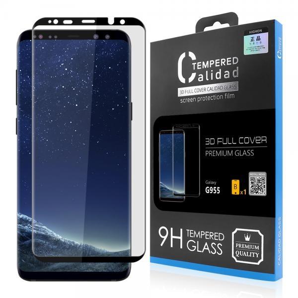 갤럭시 S8플러스 칼리다드 풀커버 강화유리 액정보호필름