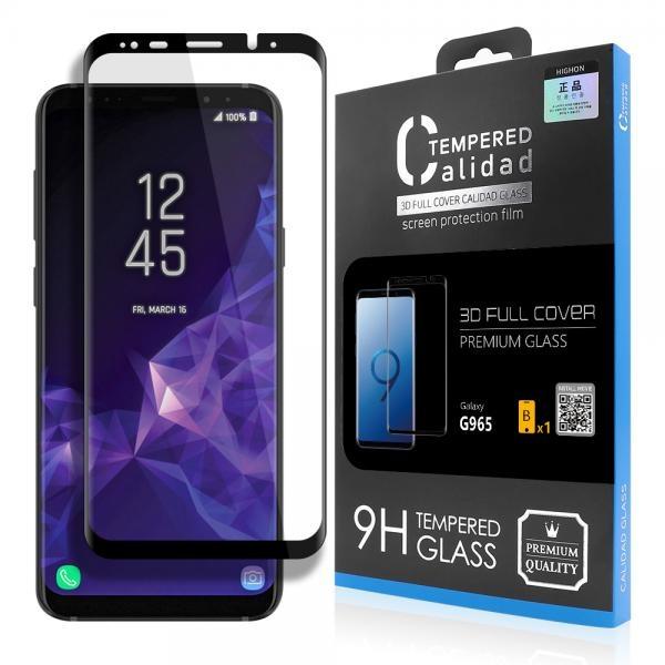 갤럭시 S9플러스 칼리다드 풀커버 강화유리 액정보호필름