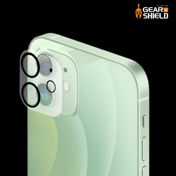[(주)벨라디자인] 기어쉴드 아이폰12 미니 후면카메라 강화유리