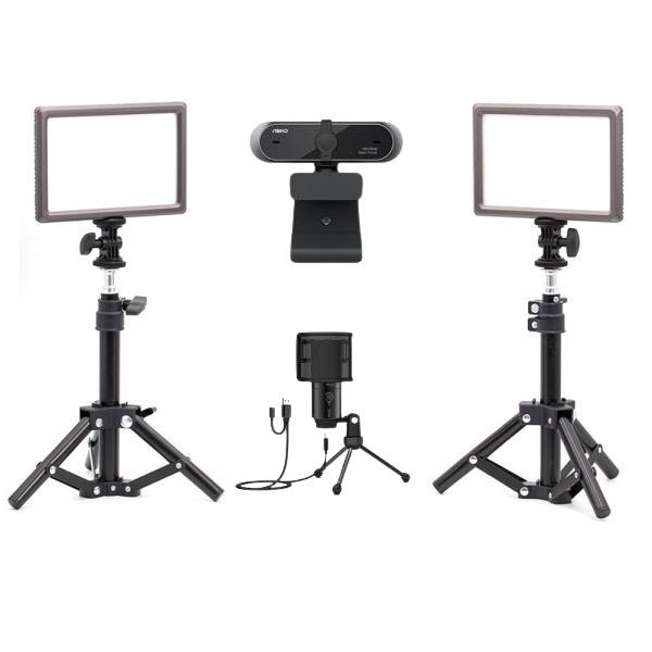 오토케 PC 개인방송장비 세트 A6 온라인 수업 강의 유튜브 게임방송 BJ APC930 K683A 룩스패드22