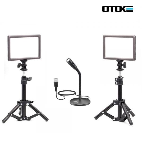 오토케 PC 개인방송장비 세트 D3 온라인 수업 강의 유튜브 게임방송 BJ K050 룩스패드22H