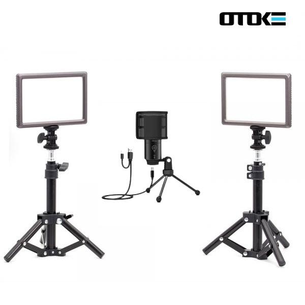 오토케 PC 개인방송장비 세트 D2 온라인 수업 강의 유튜브 게임방송 BJ K683A 룩스패드22H