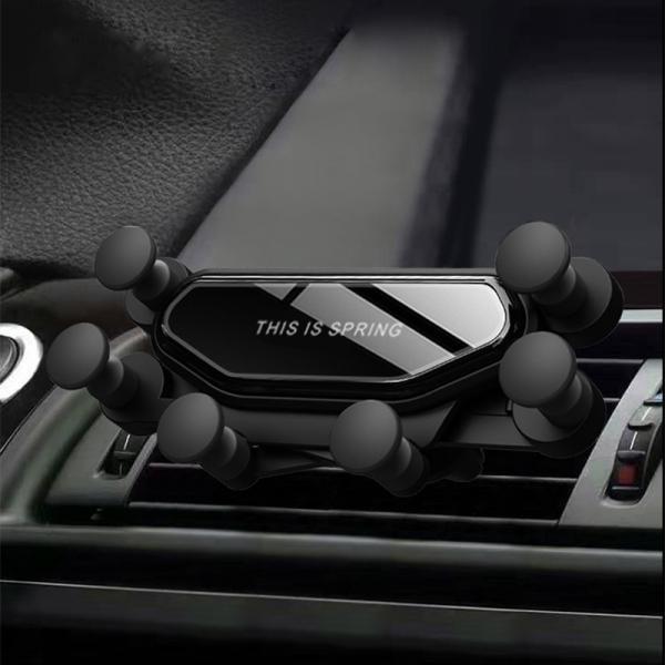[(주)카데코] 토드 스프링 스마트폰거치대 무소음 원터치 송풍구형