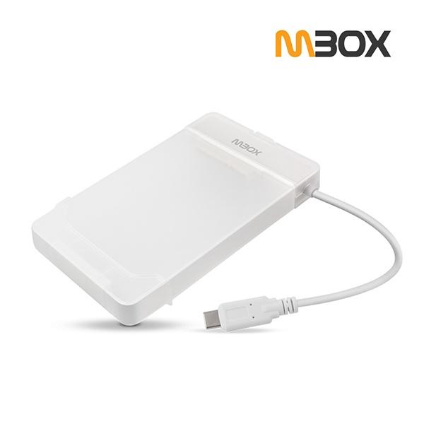 2.5인치 외장케이스, MBOX HS-3000G [USB 3.1 GEN 1/C타입] [하드미포함/반투명]
