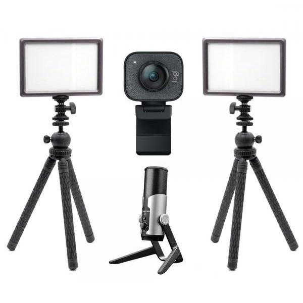 로지텍 스트림캠 실시간 개인방송 세트 M2 룩스패드22H Stram Cam TAKSTAR GX6 유튜브 아프리카 방송