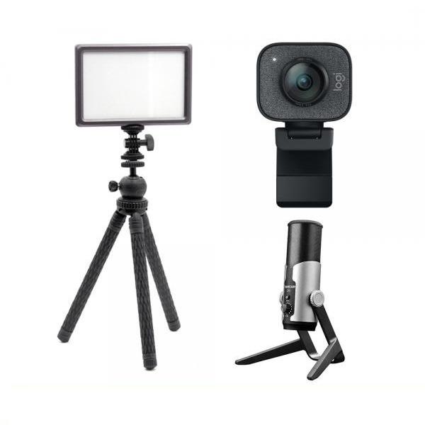 로지텍 스트림캠 실시간 개인방송 세트 M 룩스패드22H Stram Cam TAKSTAR GX6 유튜브 아프리카 방송