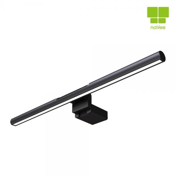 모니터조명, NV6-LUX6 LED스탠드 [블랙]