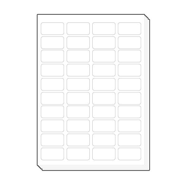 바코드용 다용도용 라벨지 [40칸/100매]