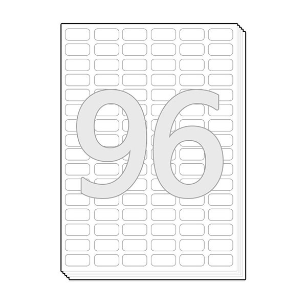 바코드용 다용도용 라벨지 [96칸/100매]