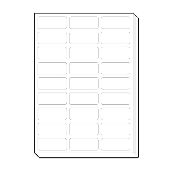 바코드용 다용도용 라벨지 [27칸/100매]