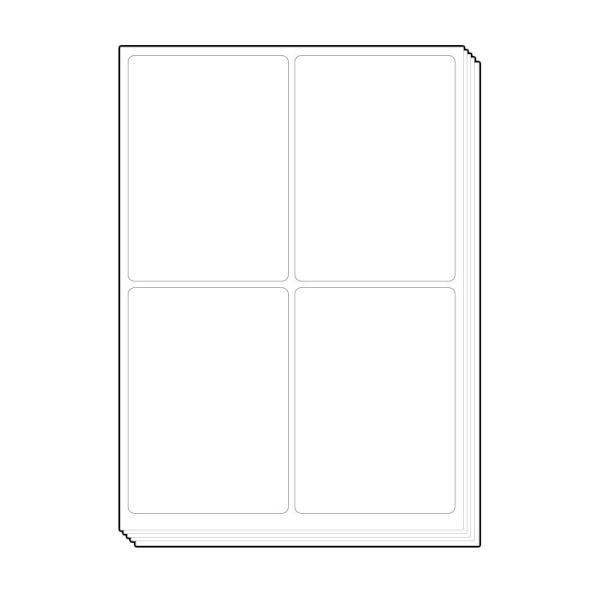 소화물용 물류표기용 라벨지 [4칸/100매]