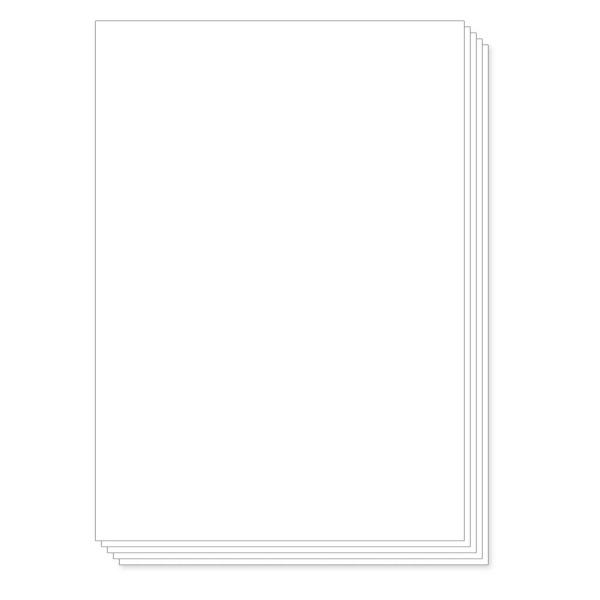 물류표기용 다용도용 전지 라벨지 [1칸/100매]
