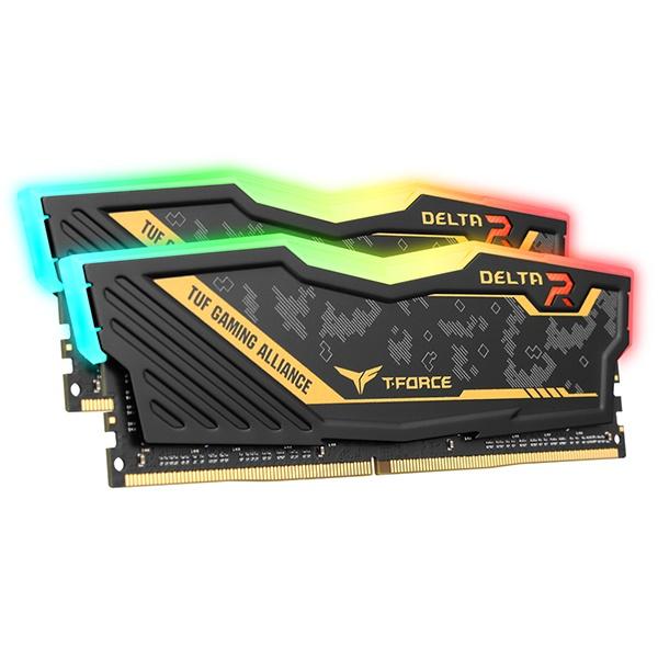 T-Force DDR4 32GB PC4-25600 CL16 Delta RGB TUF (16GBx2) 서린