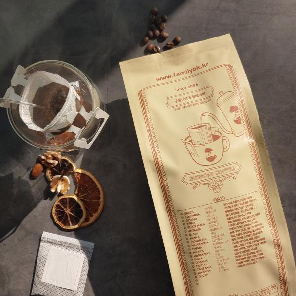 콜롬비아 슈프리모 10g x 17봉 드립백커피