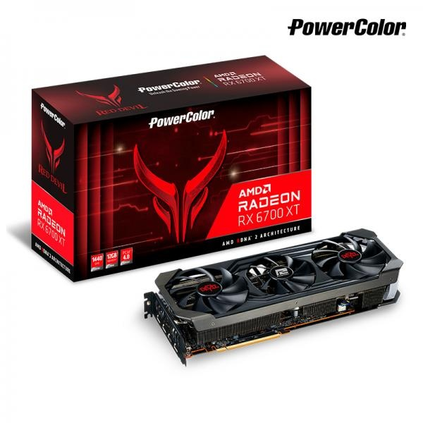Radeon™ RX 6700 XT RED DEVIL D6 12GB