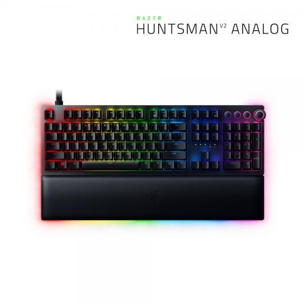 유선 기계식 키보드, Huntsman V2 Analog (헌츠맨 v2 아날로그) [웨이코스정품] 아날로그광축, 영문자판 [블랙/USB]