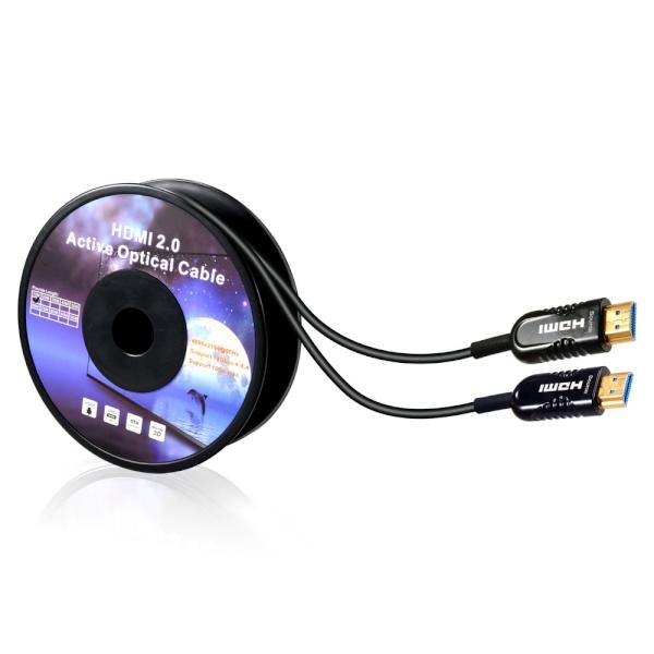 이지넷 하이브리드 광 HDMI 케이블 [Ver2.0] 120M [NEXT-2120HAOC]