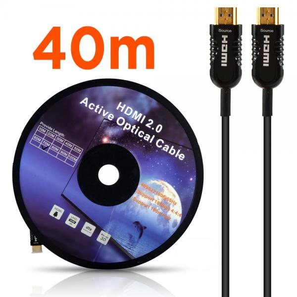이지넷 하이브리드 광 HDMI 케이블 [Ver2.0] 40M [NEXT-2040HAOC]