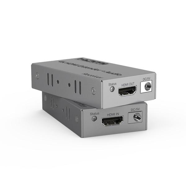 이지넷 HDMI 리피터 송수신기 세트, NEXT-8120UHD-4K [최대120M/RJ-45]