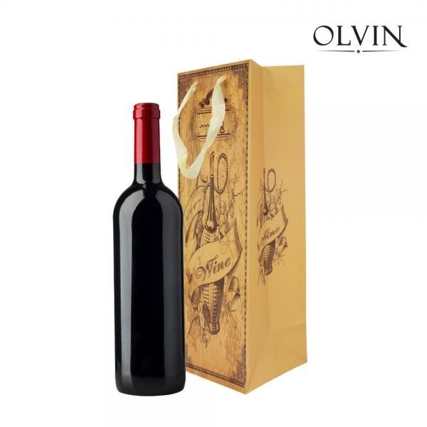 올빈 와인 쇼핑백 V1