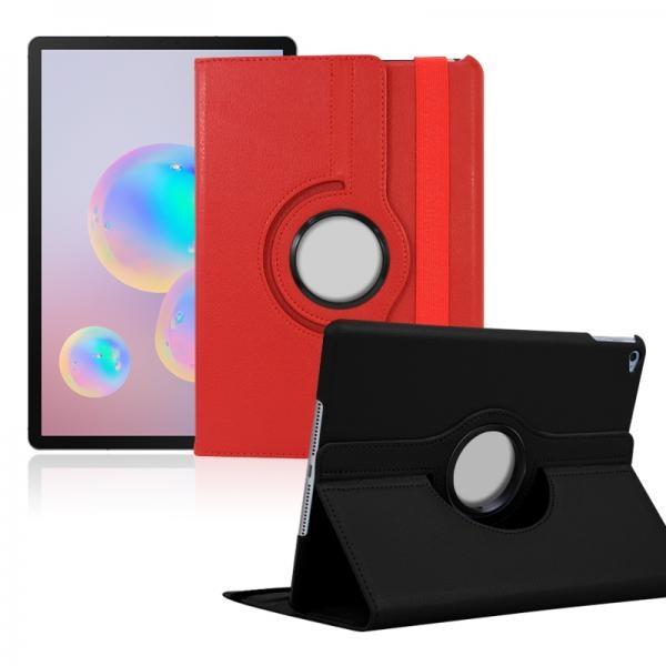 삼성 갤럭시 탭S7 플러스 (12.4인치) / 크로스 레더 케이스 / 특가판매
